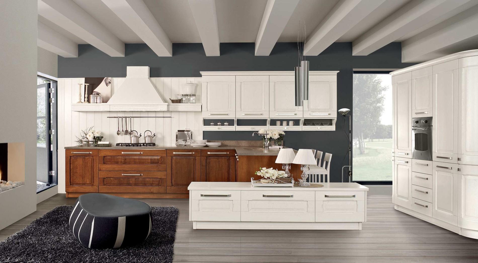 Idee pittura pareti soggiorno nera - Pittura per cucine ...